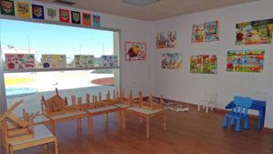 La Mecedora centro infantil: mesas recogidas